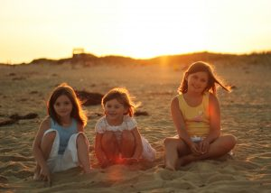 3 sisters at the beach
