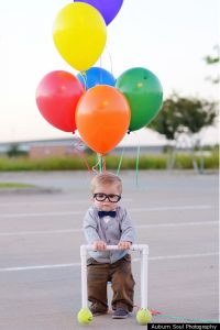 Halloween costume - Carl from Up