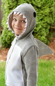 Halloween shark costume