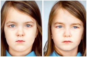 Can Identical Twins Look Different?