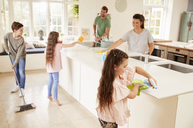 Image result for whole family cleaning